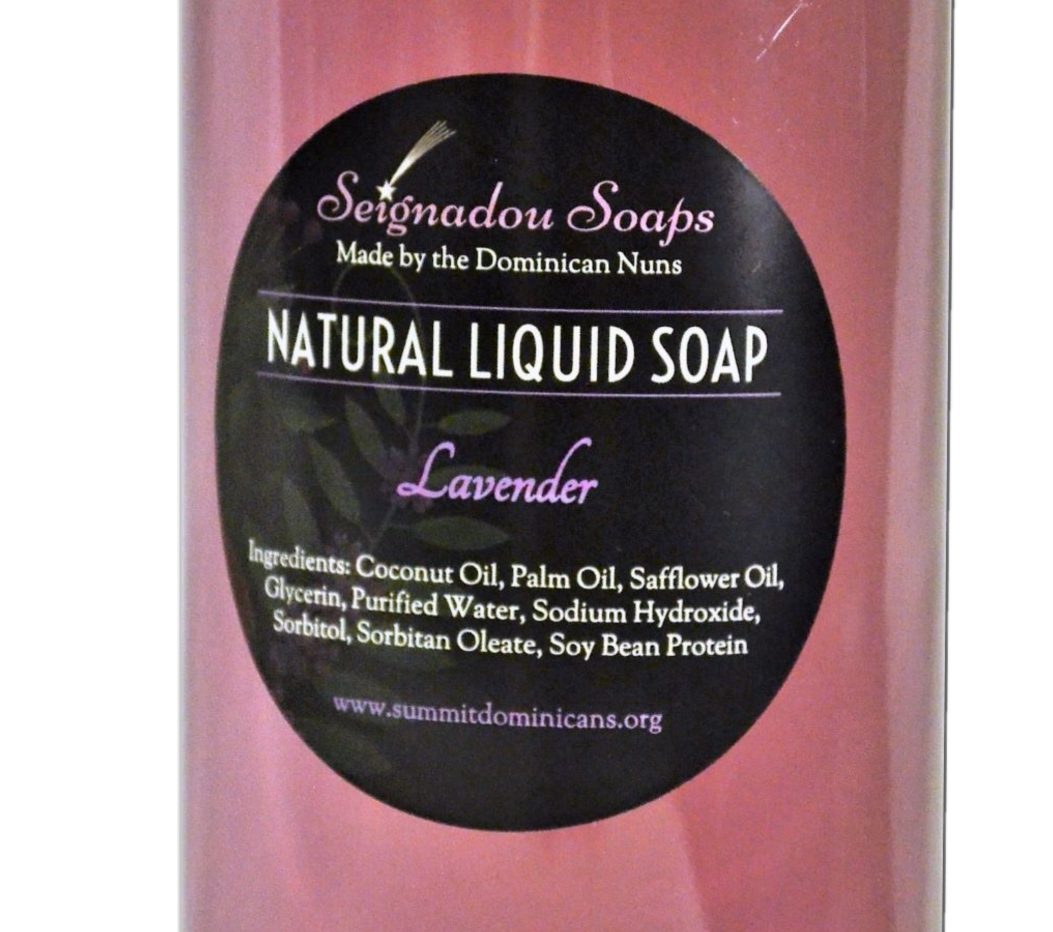 Lavender Natural Liquid Hand Soap Refill