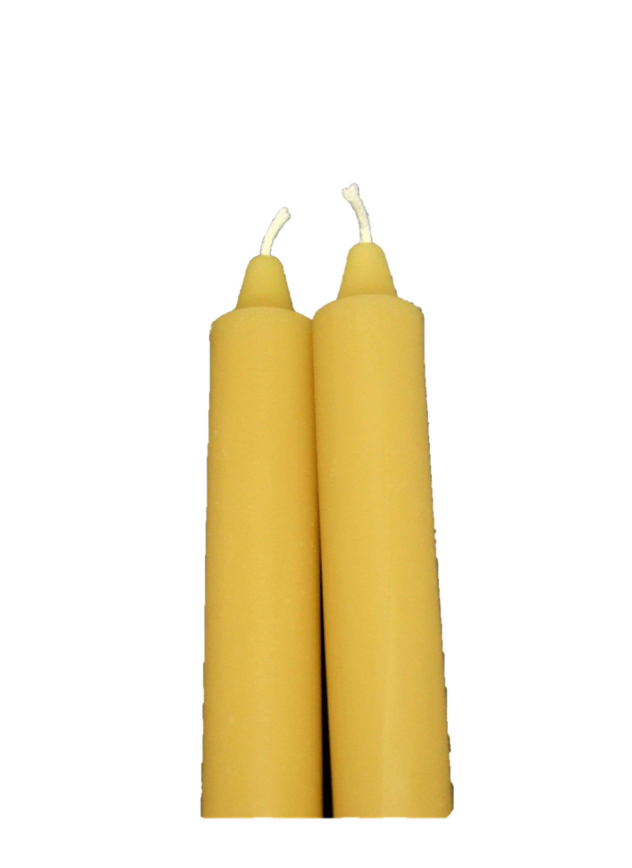 100% Beeswax Tapers
