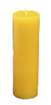 100% Beeswax 2x6 Column Candle