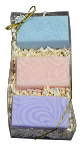 Floral Soap Trio Box