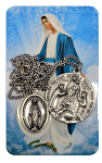 Our Lady of Grace and Rosary Medal