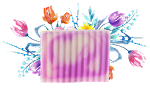 Swirling Wisteria Soap